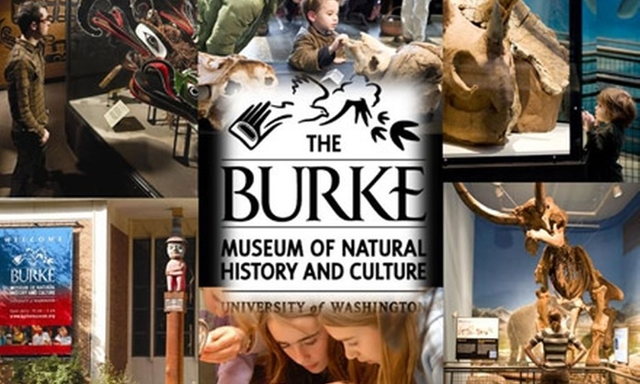 The Burke Museum of Natural History & Culture - University District: $15 Individual One-Year Membership to The Burke Museum of Natural History and Culture ($30 Value)