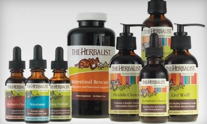 The Herbalist - Ravenna: $29 for $60 Worth of Organic Herbal Products, Vitamin Supplements, Superfood Smoothies & More at The Herbalist