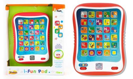 Tablette éducative apprentissage de l'alphabet et du vocabulaire avec 3 modes de jeu