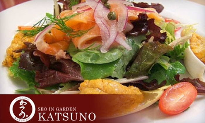 Katsuno - Forest Hills: $20 for $40 Worth of Sushi, Japanese Tapas, Sake, and More at Katsuno in Forest Hills