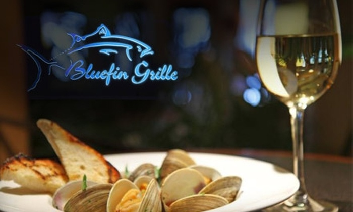 Bluefin Grille - Mt. Hope: $20 for $40 Worth of Globally-Inspired Fare and Drinks at Bluefin Grille