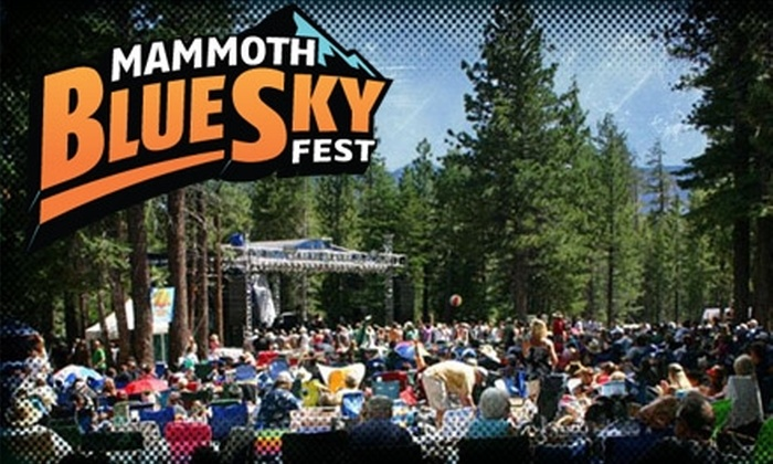 Mammoth Blue Sky Fest - Horizons: $35 for a Two-Day Pass to Mammoth Blue Sky Fest ($55 Value)