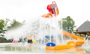 Independence Lake Blue Heron Bay Spray Play: Resident or Non-Resident Admission for 2 or 4 at Independence Lake Blue Heron Bay Spray Park (Up to 47% Off)