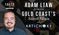 Adam Liaw's Exclusive Secret Menu - Artichoke Restaurant: 4 Courses for Two ($119) or Four ($238) - Up to $396 Value