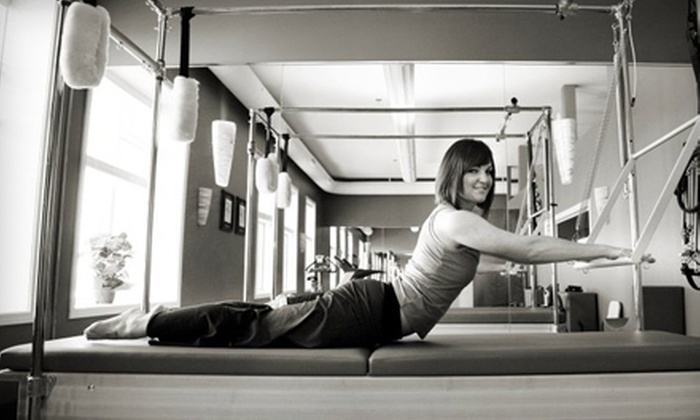 Reforming Indy Pilates Studio - Clay: 3, 6, or 10 TRX Suspension or Pilates Reformer Classes at Reforming Indy Pilates Studio in Carmel (Up to 68% Off)