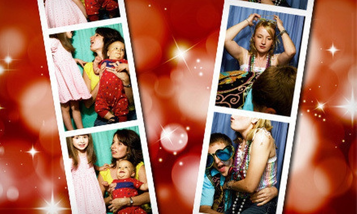 AZ Photo Party - North Scottsdale: Three- or Four-Hour Photo-Booth Rental with CD of Images from AZ Photo Party (Up to 63% Off)