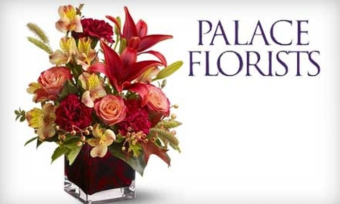 Palace Florists - Dupont Circle: $25 For $50 Worth of Seasonal Flowers From Palace Florists