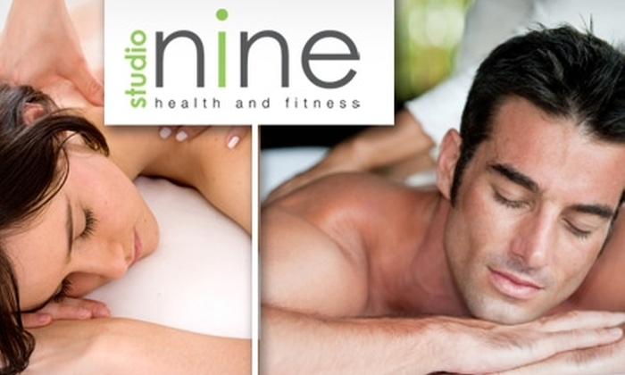 Studio Nine Health and Fitness - North Creek: $35 for a One-Hour Deep Tissue or Swedish Massage at Studio Nine Health and Fitness ($70 Value)