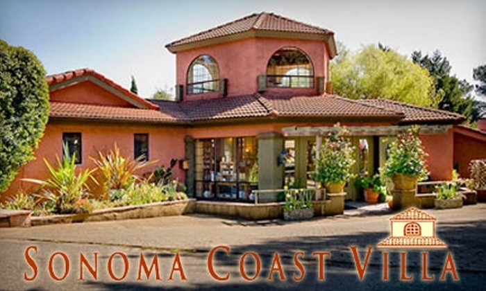 Sonoma Coast Villa & Spa - Castroville: $315 for a Two-Night Villa Stay and Breakfast for Two at Sonoma Coast Villa & Spa in Bodega ($710 Value)