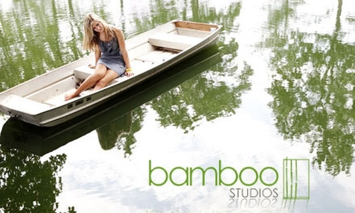 "Bamboo Studios - Charlotte: $49 for Three-Hour Photo Session and 8""x10"" Print from Bamboo Studios ($229 Value)"