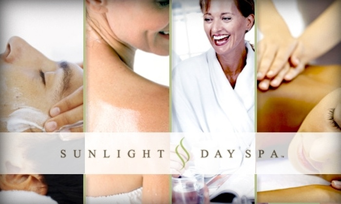Sunlight Day Spa - Metcalf View: $45 for Any One-Hour Massage or Other Spa Service at Sunlight Day Spa (Up to $95 Value)