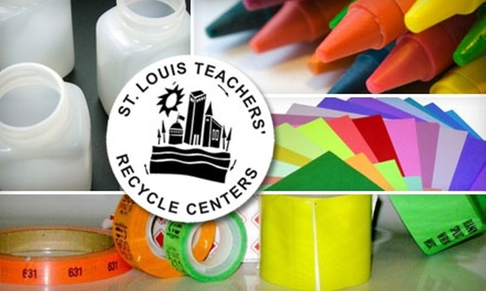 St. Louis Teachers' Recycle Center - Multiple Locations: $5 for a 10-Pound Service Pass for New and Used School and Art Supplies at St. Louis Teachers' Recycle Center