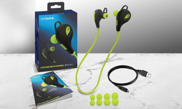 Up To 20 Off On Bluetooth Earbuds With Mic Groupon Goods
