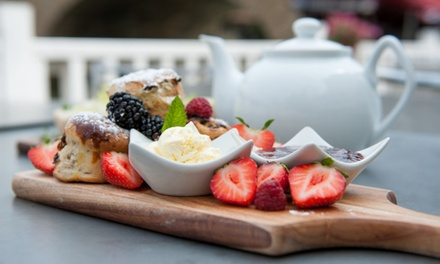 Cream Tea for Two or Four at Mrs Salisbury's Famous Tea Rooms