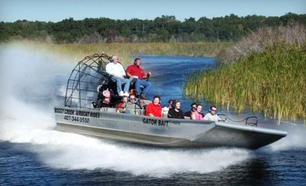 1 Children's Ticket (a $39.54 value) - Boggy Creek Airboat Rides in Kissimmee