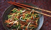 Up to 53% Off Asian-Fusion Dinner for Two or Four at Fuzian Restaurant