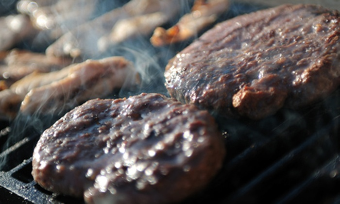 The Grill - Bel-Air: $7 for $15 Worth of Burgers, Steaks, and American Fare at The Grill
