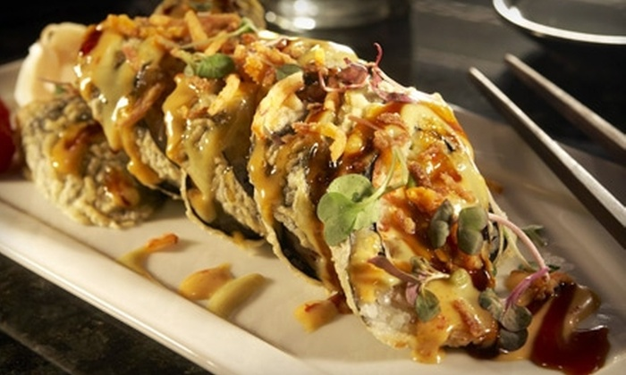 Sensu - Downtown Indianapolis: $75 for a Five-Course Asian-Fusion Dinner for Two and a Bottle of Champagne at Sensu (Up to $238 Value)