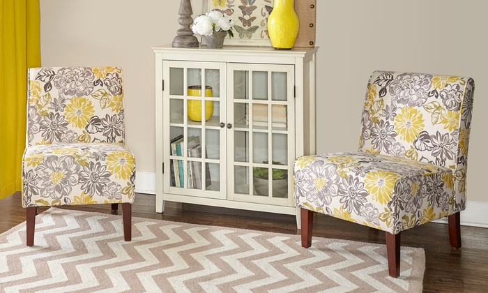 Up To 45% Off on Floral Accent Chair | Groupon Goods