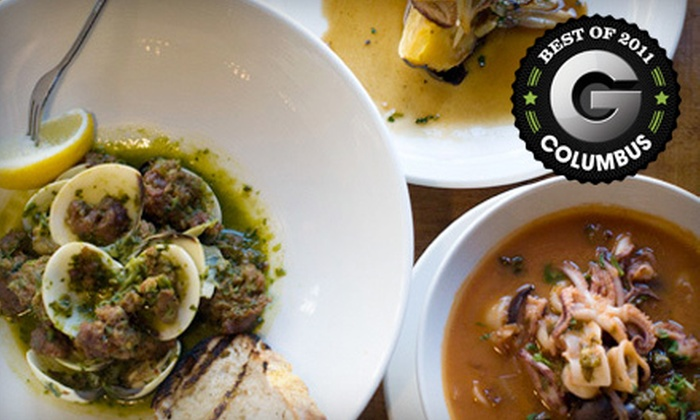 Barrio Tapas Lounge - Short North,Uptown District,Arena District: $15 for $30 Worth of Spanish Fusion Tapas at Barrio Tapas Lounge