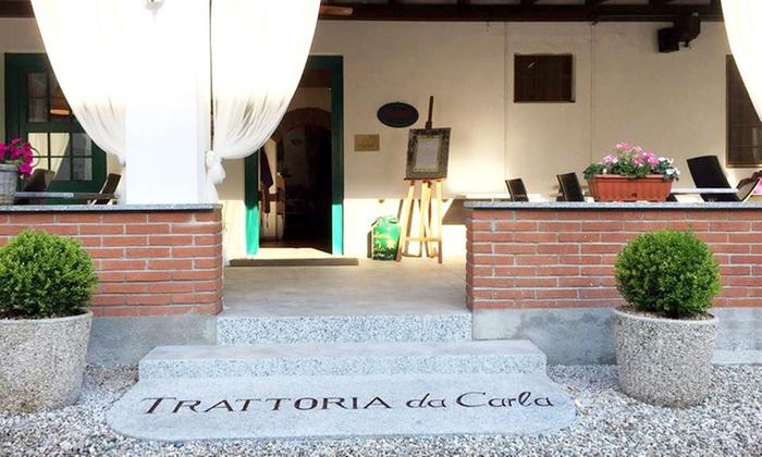 TRATTORIA DA CARLA - Ristorante Trattoria Da Carla: Trattoria Da Carla, 1 Forchetta Michelin - Menu con scelta alla carta più bottiglia di vino (sconto fino a 52%)