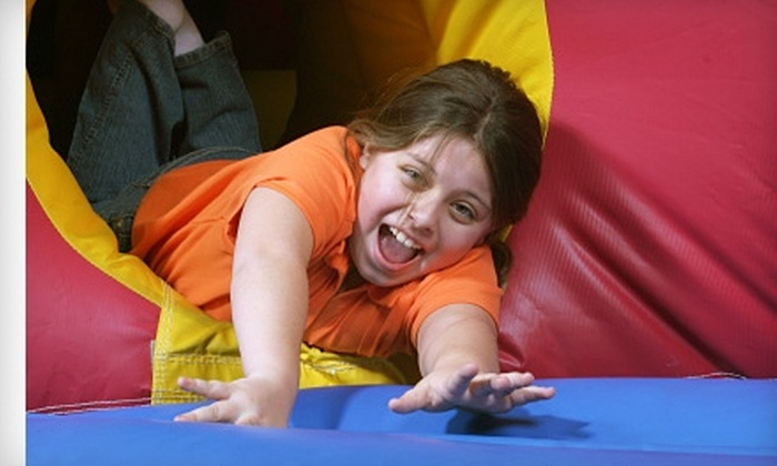 Bouncerz Indoor Party Center - Carson Hot Springs: Two Open-Bounce Passes or an Open-Bounce Birthday Party at Bouncerz Indoor Party Center in Carson City
