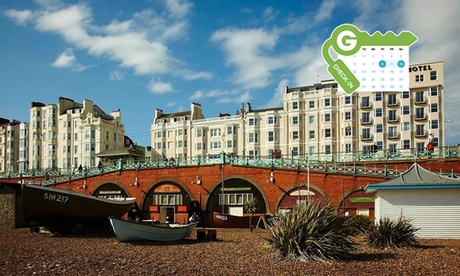Brighton: Standard or Sea View Room for Up to Four with Breakfast and Option for Dinner at 4* Old Ship Hotel