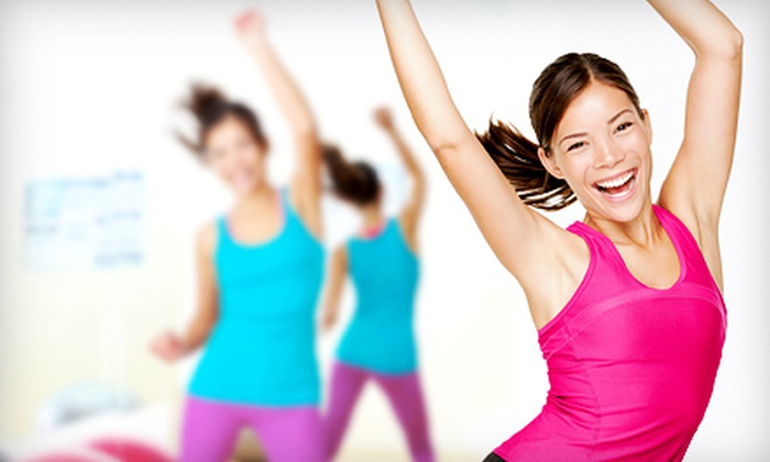ZUMBA with Jayme - Multiple Locations: 10 or 20 Zumba Classes at ZUMBA with Jayme (Up to 57% Off)