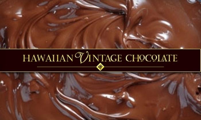 Hawaiian Vintage Chocolate: $20 for $40 Worth of Chocolate and More at Hawaiian Vintage Chocolate