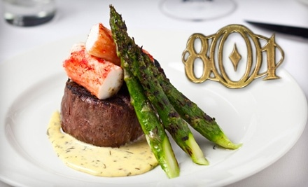 $80 Groupon to 801 Chophouse - 801 Chophouse in Des Moines