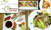 Bamboo Lounge & Ami Sushi - Hillcrest: $12 for $25 Worth of Fusion Fare at Bamboo Lounge or Fresh Sushi from Ami Sushi
