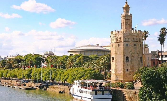 Sevilla: 1 o 2 noches para 2, visita guiada, entrada al casino con cava y opción a 1 cena en GIT Vía Sevilla Mairena 4*