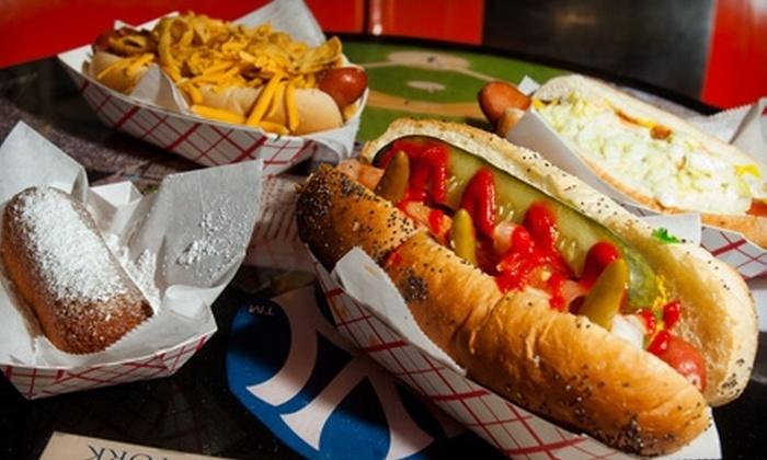 The Infield - Sherman Oaks: $6 for $12 Worth of Hot Dogs at The Infield in Sherman Oaks