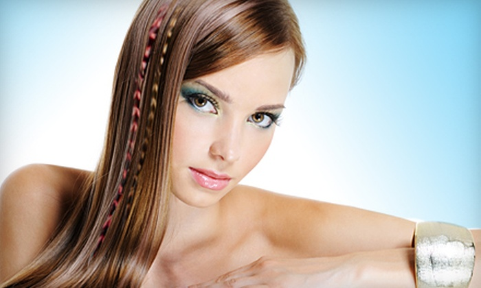 Hairscapes - Downtown Honolulu: $44 for Haircut and Feather Extensions at Hairscapes (Up to $101 Value)