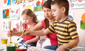 Kids painting: $30 for $50 Groupon — Kids painting