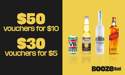 $30 or $50 Credit to Spend on Alcohol - Min Spend Applies - New Customers Only