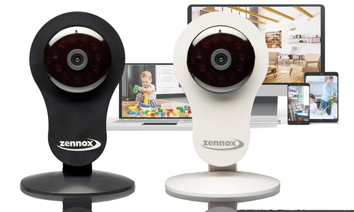 Groupon Goods Global GmbH: One, Two or Three Zennox HD Home Security Indoor Surveillance IP Cameras