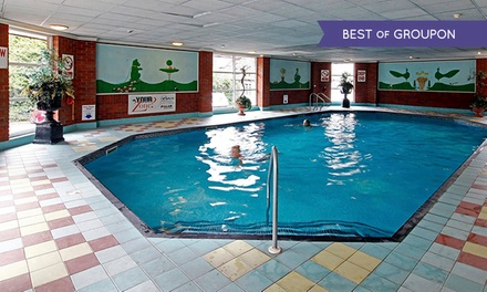 Leisure Club Membership and Meal from £17 at Mercure Goldthorn Hotel (Up to 72% Off)