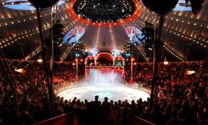 Circus Roncalli: 1 Ticket für den Zirkus Roncalli mit neuem Programm an versch. Terminen im Juli und August in Lübeck (bis zu 31% sparen)