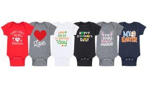 Infant Spring Holiday Bodysuits