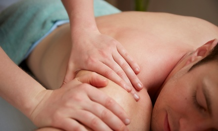Massage with Optional Foot Treatment at Heavenly Hands Body Massage (Up to 54% Off)