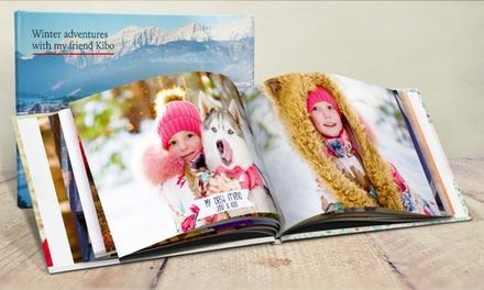 Fotolibro A4 de tapa dura de 40 o 100 páginas desde 10 € (hasta 87% de descuento)