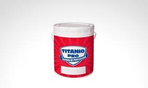 Pintureria Vintage: Látex interior Colorín Titanio Pro de 20 litros con opción a combo completo de pintor en Pinturería Vintage