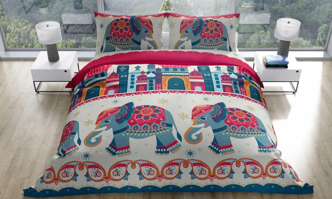Rapport Home Exotic Elephant Duvet Set