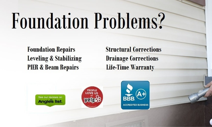 Extreme Foundation Repair - Houston: $99 for $300 Worth of Foundation Inspection and Repair at Extreme Foundation Repair