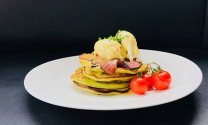Brunch with Free-Flowing Prosecco, Mimosas, Bellinis or soft drink for One, Two or Four at Outside The Box ( 58% Off)