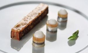 Villa Archange: Déjeuner ou dîner en 3 à 9 services par le chef doublement étoilé Bruno Oger dès 119 € pour 2 ou 4 à La Villa Archange