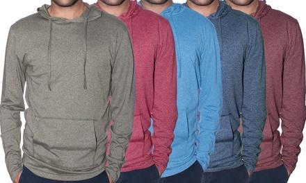 Men's Marled Pullover Hoodie
