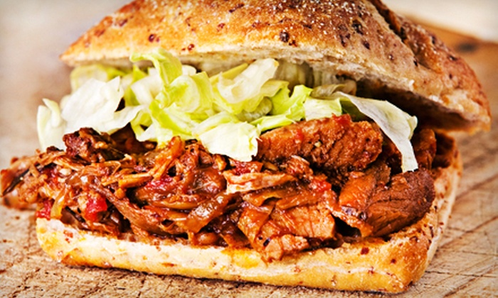 Virginia BBQ - Manassas: Hand-Pulled Barbecue or Catering at Virginia BBQ in Manassas (Up to 51% Off)