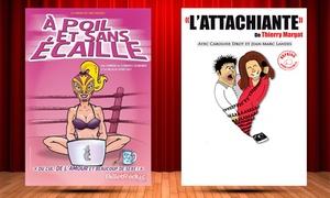 La Comédie de Limoges: 2 places pour l'une des pièces au choix à 18 €à la Comédie de Limoges